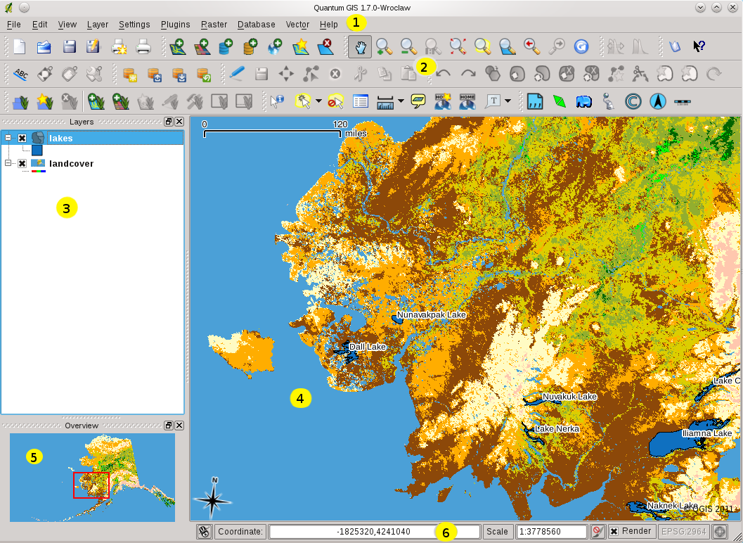 Features at a Glance — QGIS User Guide 1 7 4 documentation